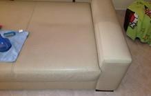 Leather sofa peq1