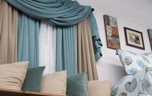 Blue grey curtains1
