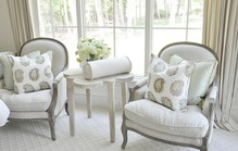 Two off white chairs1