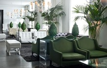 hotel green armchairs1