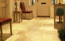 Travertine entrance floor1