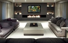 Living room with fireplace1
